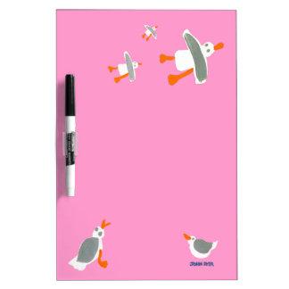 Art Board: John Dyer Seagulls Dry Erase Whiteboard