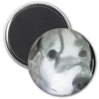 Art By Jennifer-The Hound 6 Cm Round Magnet