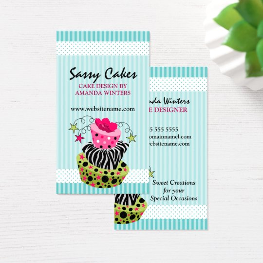 Art Cake Bakery Business Card