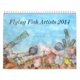 Art Calendar 2014.
