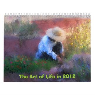 Art Calender 2012 Wall Calendars