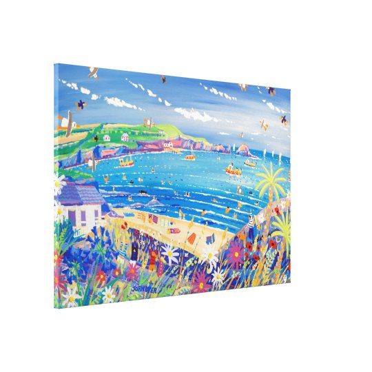 Art Canvas Print: Mother Ivey's Bay Cornwall