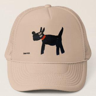 Art Cap: Bella Scotty Dog Trucker Hat