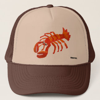 Art Cap: Cornish Padstow Lobster Trucker Hat