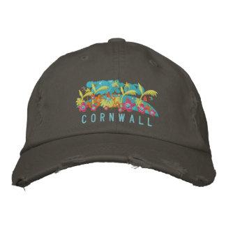 Art Cap: Cornwall John Dyer Design Embroidered Hat