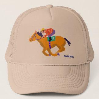 Art Cap: Race Hose by John Dyer Trucker Hat