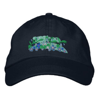 Art Cap: Tropical Moonlight - Twinkle Embroidered Hat