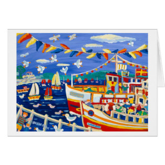 Art Card: Beany Hats and Pleasure Boats Card
