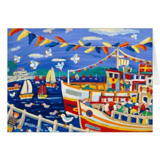 Art Card: Beany Hats and Pleasure Boats Card