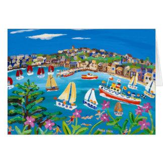 Art Card Campion Days Falmouth Cornwall