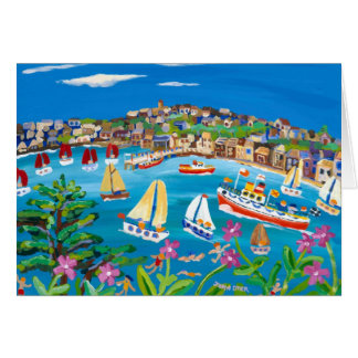 Art Card: Campion Days, Falmouth, Cornwall Card