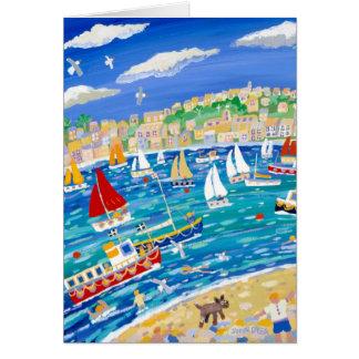 Art Card: Falmouth River, Cornwall Card