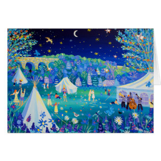 Art Card: Festival of Love, Cornwall Greeting Card