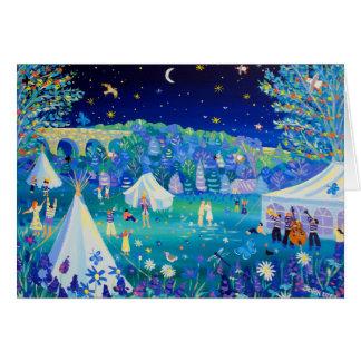 Art Card: Festival of Love, Cornwall Greeting Card