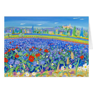 Art Card: Flowers for Honey, Provence Greeting Card