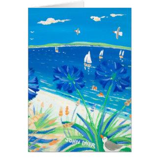 Art Card: Having a Dip, Pentle Bay Greeting Card