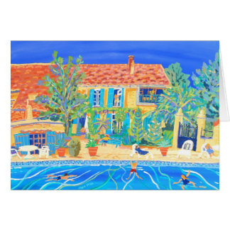 Art Card: Holidays in Provence Greeting Card