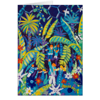 Art Card: Jungle Valley, The Eden Project Greeting Card