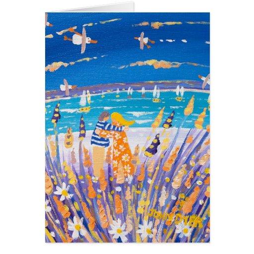 Art Card: Love on the beach