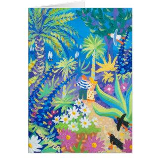 Art Card: Love under the palms Card