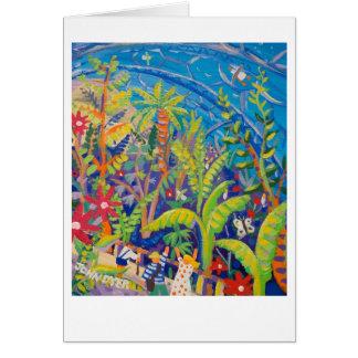 Art Card: Rainforest. Eden Project Greeting Card