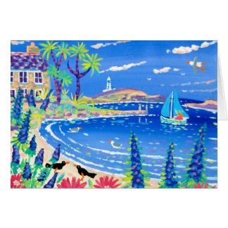 Art Card: Sailing Home, Tresco Greeting Card