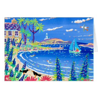 Art Card: Sailing Home, Tresco Greeting Card