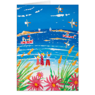 Art Card: Scilly Days. Isles of Scilly Card