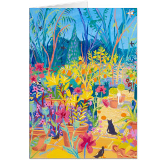 Art Card: Sumptuously Citrus. Gardeners' World Greeting Card