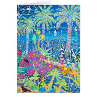 Art Card: Tresco Abbey Gardens Greeting Card