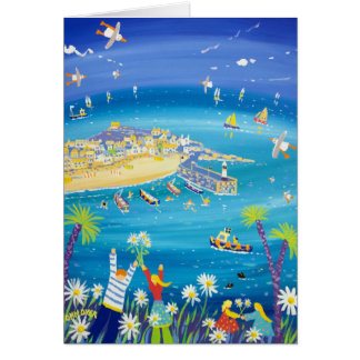 Art Card: Waving Daisies, St. Ives Card