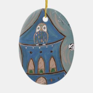 Art Ceramic Oval Decoration