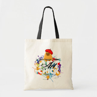 Art Chick Canvas Bags