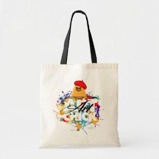 Art Chick Budget Tote Bag