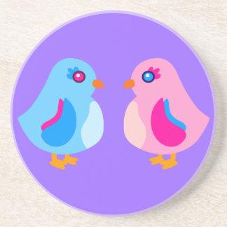 Art Chicks Drink Coaster