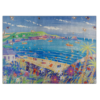 Art Chopping Board: Mother Ivey's Bay Cornwall Cutting Board