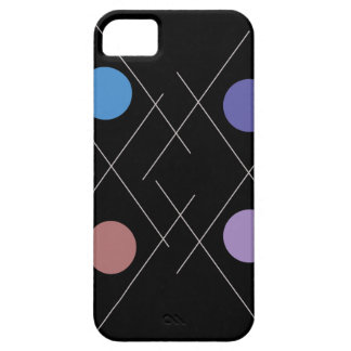 Art Circles Dividing Lines iPhone 5 Covers