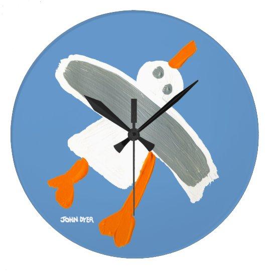 Art Clock: John Dyer Seagull Large Clock