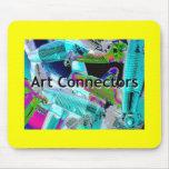Art Connectors Mouse pad