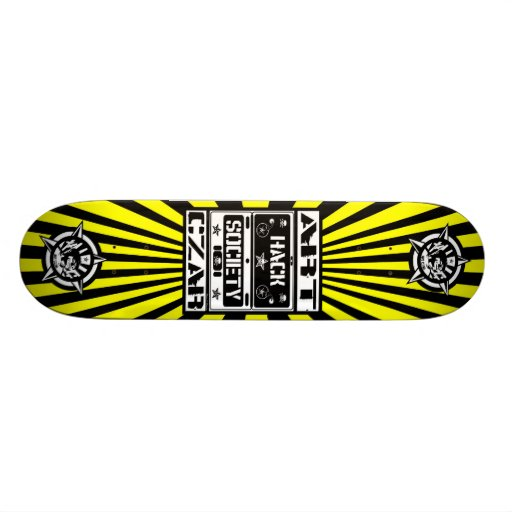 Art Czar - Hack Society (Buzz Bomb) - Skateboard