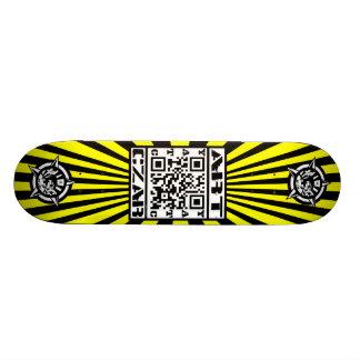 Art Czar - QR Code #1 (Buzz Bomb) - Skateboard