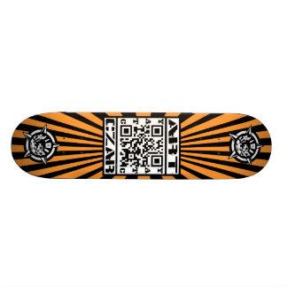 Art Czar - QR Code 1 Tiger - Skateboard