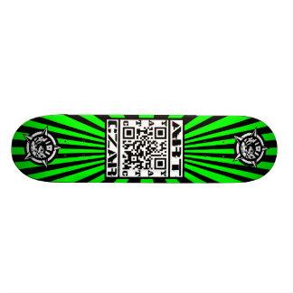 Art Czar - QR Code #1 (Venom) - Skateboard