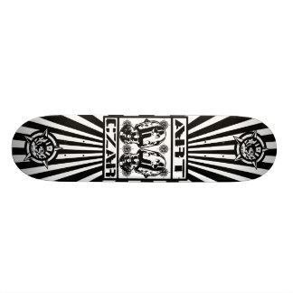 Art Czar - Robots Cry 1 Starburst - Skateboard