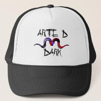 Art D Dark Trucker Hat