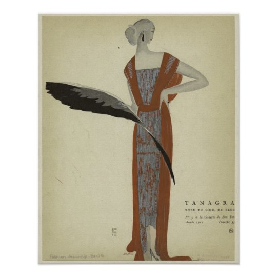 Art Deco 1920s Fashions ~ Rose du Soir