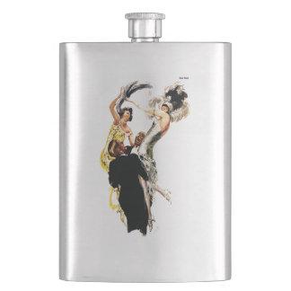 Art Deco 1920s Jazz Age Hip Flask