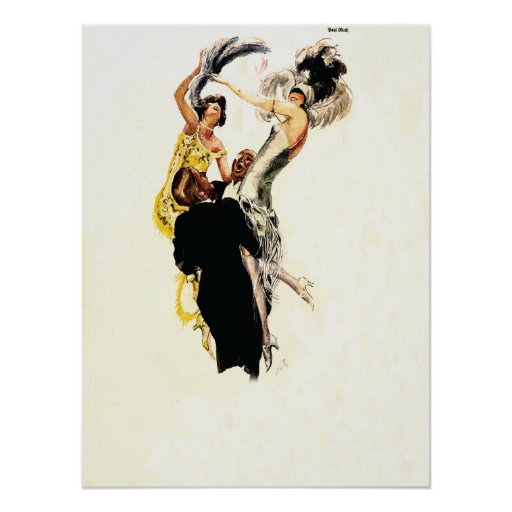Art Deco 1920s Jazz Age Posters