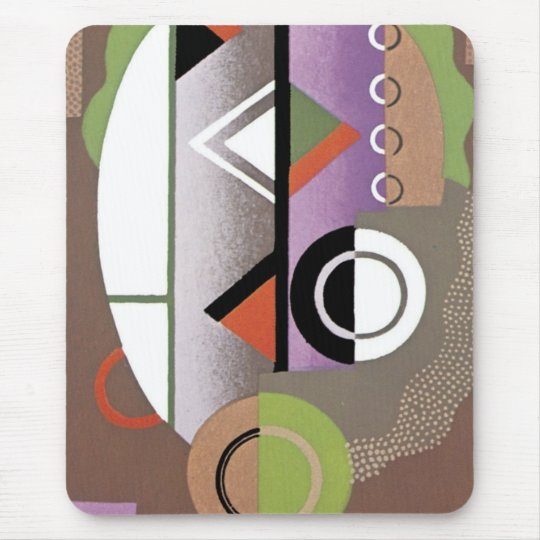 Art Deco Abstract  (69) Mouse Mat