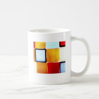 Art Deco Basic White Mug